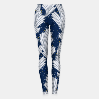Miniature de image de Frost Flower Platinum and Blue Leggings, Live Heroes