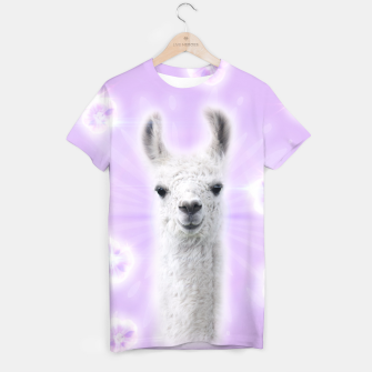 Thumbnail image of Superstar Llama T-shirt, Live Heroes