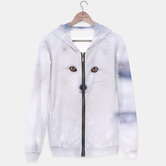 Thumbnail image of Artic Fox Hoodie, Live Heroes