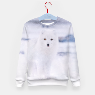 Thumbnail image of Artic Fox Kid's Sweater, Live Heroes