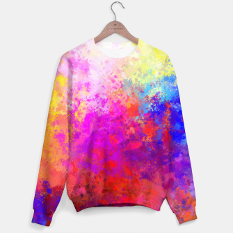 Colorful Splatter Sweater Bild der Miniatur