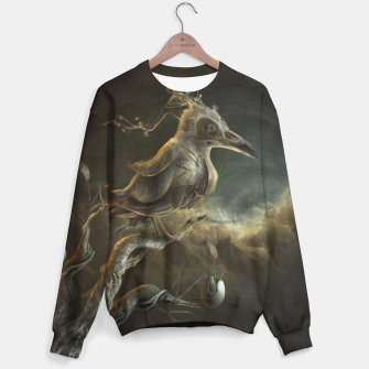 Thumbnail image of Botanical Bird Sweater, Live Heroes