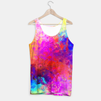 Colorful Splatter Tank Top Bild der Miniatur