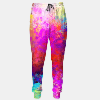 Colorful Splatter Sweatpants Bild der Miniatur