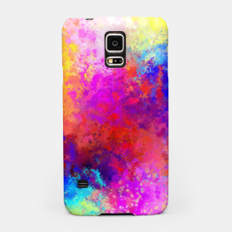 Colorful Splatter Samsung Case Bild der Miniatur
