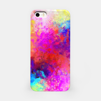 Colorful Splatter iPhone Case Bild der Miniatur