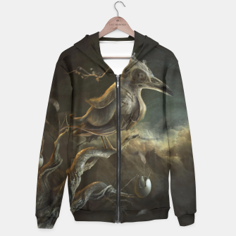 Thumbnail image of Botanical Bird Hoodie, Live Heroes