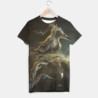 Thumbnail image of Botanical Bird T-shirt, Live Heroes