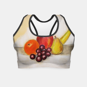Thumbnail image of fruits Crop Top, Live Heroes