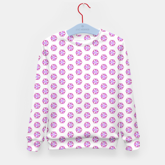 Thumbnail image of Hexagon Flowers 03 Kid's Sweater, Live Heroes