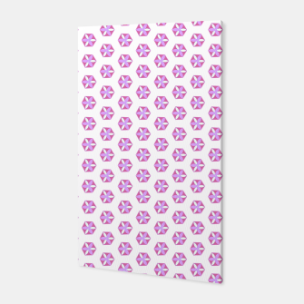 Thumbnail image of Hexagon Flowers 03 Canvas, Live Heroes