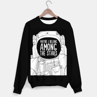 Miniatur Maybe I belong Among The Stars Sweater regular, Live Heroes