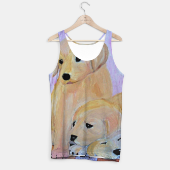 Thumbnail image of  Labrador puppies Tank Top, Live Heroes