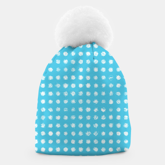 Thumbnail image of Handdrawn dotted Beanie, Live Heroes