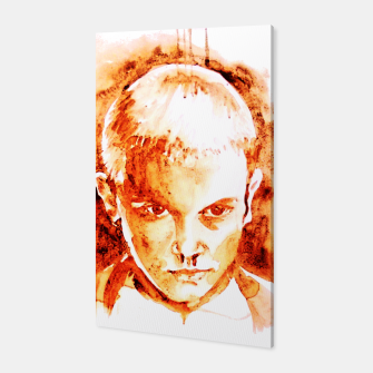 Thumbnail image of Stranger thing 11 coffe painting girl portrait Canvas, Live Heroes
