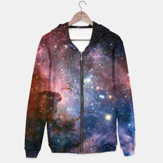 Thumbnail image of Galaxy Outerspace Hoodie, Live Heroes