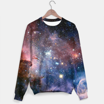 Thumbnail image of Galaxy Outerspace Sweatshirt Jumper, Live Heroes