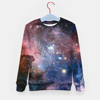 Thumbnail image of Galaxy Outerspace Kids Sweatshirt Jumper, Live Heroes