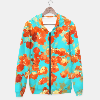 Thumbnail image of Teal Decor Hoodie, Live Heroes