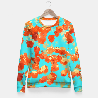 Teal Decor Fitted Waist Sweater thumbnail image