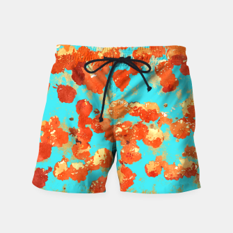 Thumbnail image of Teal Decor Swim Shorts, Live Heroes