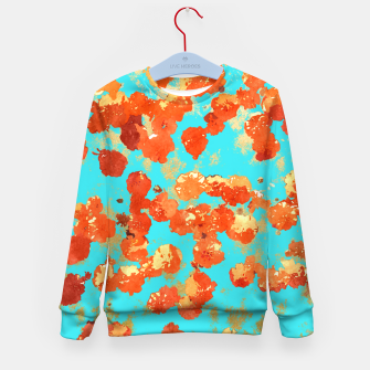 Thumbnail image of Teal Decor Kid's Sweater, Live Heroes