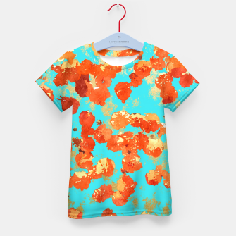 Thumbnail image of Teal Decor Kid's T-shirt, Live Heroes
