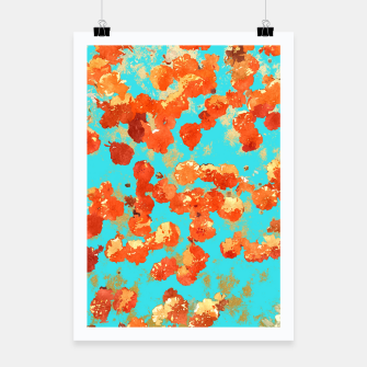 Thumbnail image of Teal Decor Poster, Live Heroes