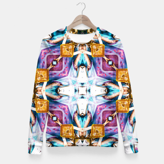 Thumbnail image of Kaleidoscope Series V1 Fitted Waist Sweater, Live Heroes