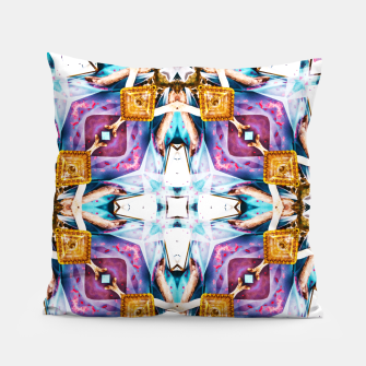 Thumbnail image of Kaleidoscope Series V1 Pillow, Live Heroes