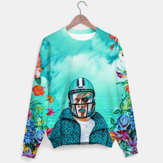Thumbnail image of Floral American Football Sweater, Live Heroes