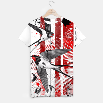 Thumbnail image of wings of a swallow T-shirt, Live Heroes
