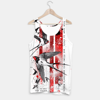 Thumbnail image of wings of a swallow Tank Top, Live Heroes