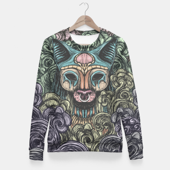 Bastet on the field Fitted Waist Sweater thumbnail image