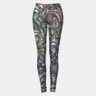 Thumbnail image of Bastet on the field Leggings, Live Heroes