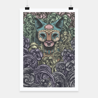 Bastet on the field Poster thumbnail image