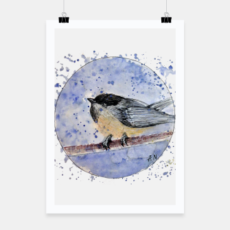 Thumbnail image of Winter Bird Poster, Live Heroes
