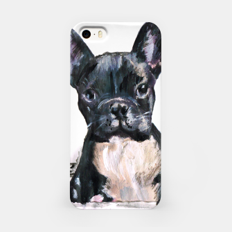 Cute French Bulldog Painting iPhone Case thumbnail image