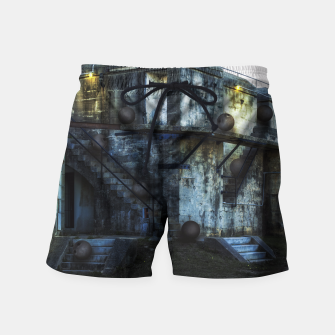 Thumbnail image of Semantic Ambiguity Swim Shorts, Live Heroes
