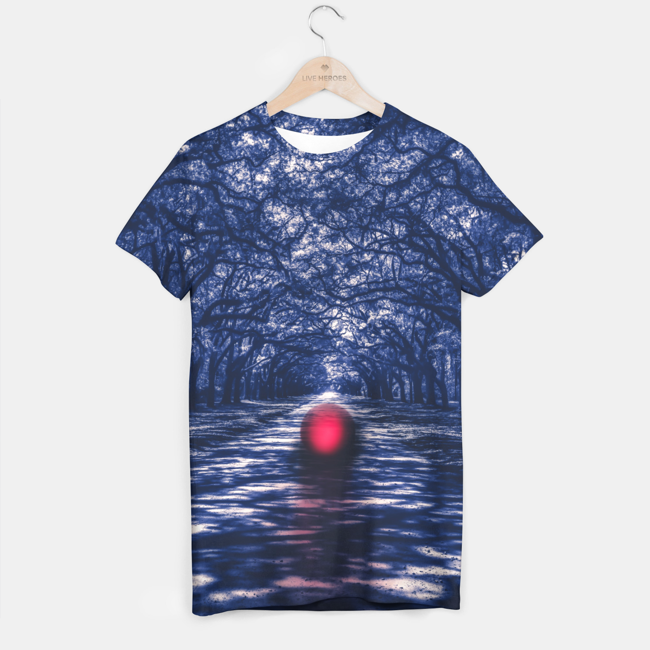 Image of Lost in Unconsciousness T-shirt - Live Heroes