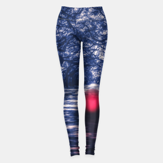 Thumbnail image of Lost in Unconsciousness Leggings, Live Heroes