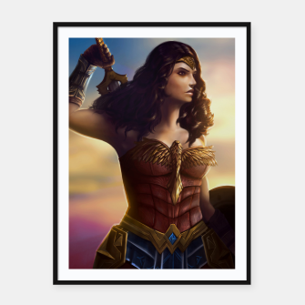 Miniatur Amazon Framed poster, Live Heroes