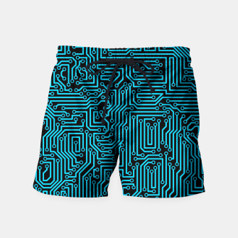 Thumbnail image of Reboot BLUE Swim Shorts, Live Heroes