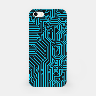Thumbnail image of Reboot BLUE iPhone Case, Live Heroes