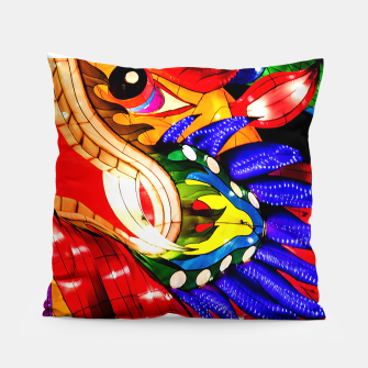 Thumbnail image of Enter the Dragon Pillow, Live Heroes