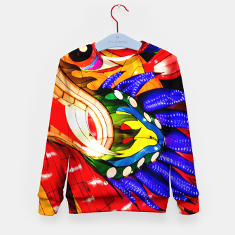 Thumbnail image of Enter the Dragon Kid's Sweater, Live Heroes