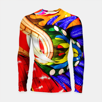 Thumbnail image of Enter the Dragon Longsleeve Rashguard , Live Heroes
