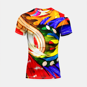Thumbnail image of Enter the Dragon Shortsleeve Rashguard, Live Heroes
