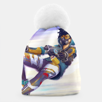Thumbnail image of Graffiti Shooter Beanie, Live Heroes