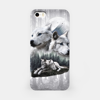 Thumbnail image of White Wolves iPhone-Hülle, Live Heroes